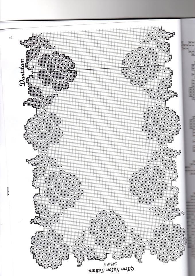 Izuzetno lep motiv. | dantel güzelleri | Pinterest | Carpeta ...