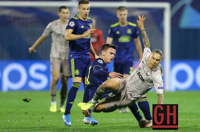 Dinamo Zagreb 3 3 Shakhtar Donetsk Uefa Champions League Uefa Champions League Champions League Football Today