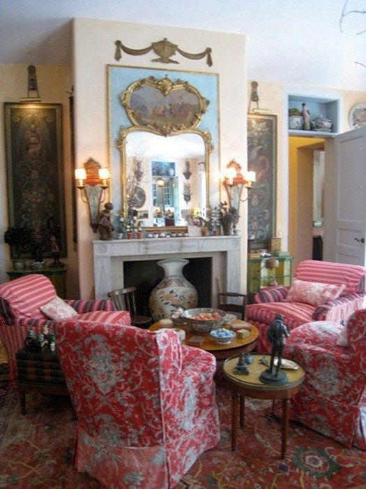 charming french country modern living room | Step inside a very charming French Country home | English ...