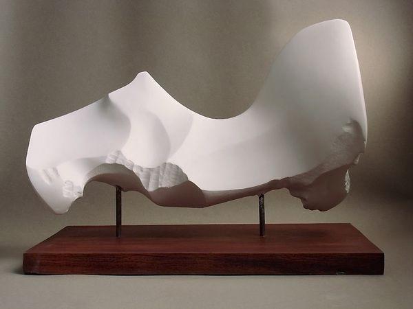 mixed media by Soforbis , via Behance Sculpture Pinterest - moderne skulpturen wohnzimmer