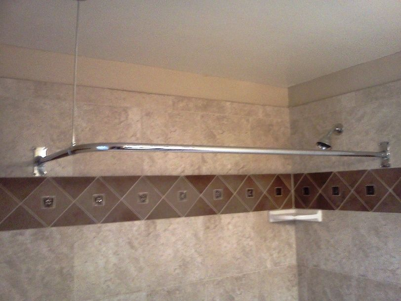 Shower Curtain Rods, Shower Curtains, Lowes