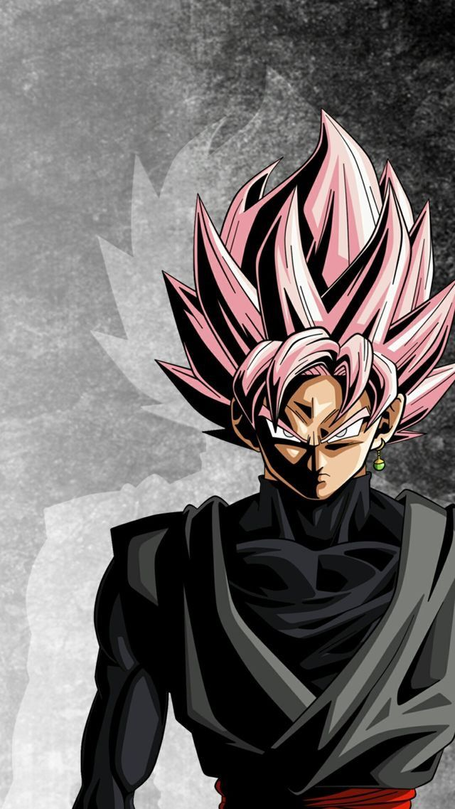 Goku Black Super Saiyan Rose Anime dragon ball super