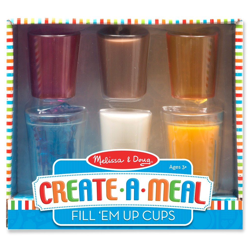 Melissa doug createameal fill em up cups with images