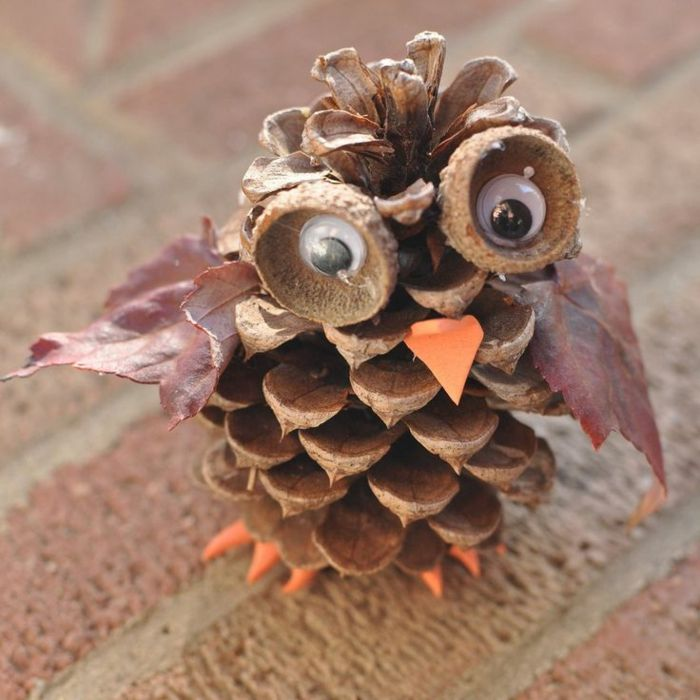 1001 id es cr atives que fabriquer avec des pommes de pin d corations de - Pommes de pins decoration ...