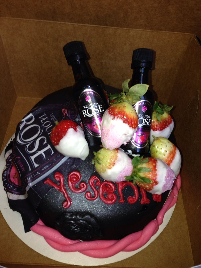 Tequila Rose Cake By Wildy S Creations Rose Cake Tequila Rose