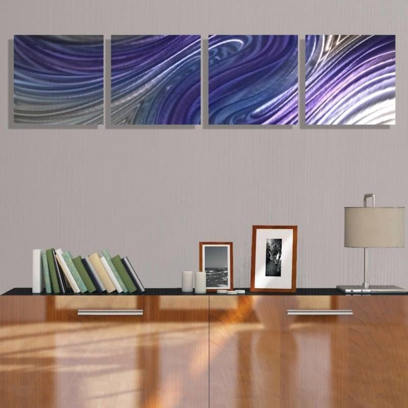 Modern Abstract Metal Wall Art Painting Home Decor - Paranormal by