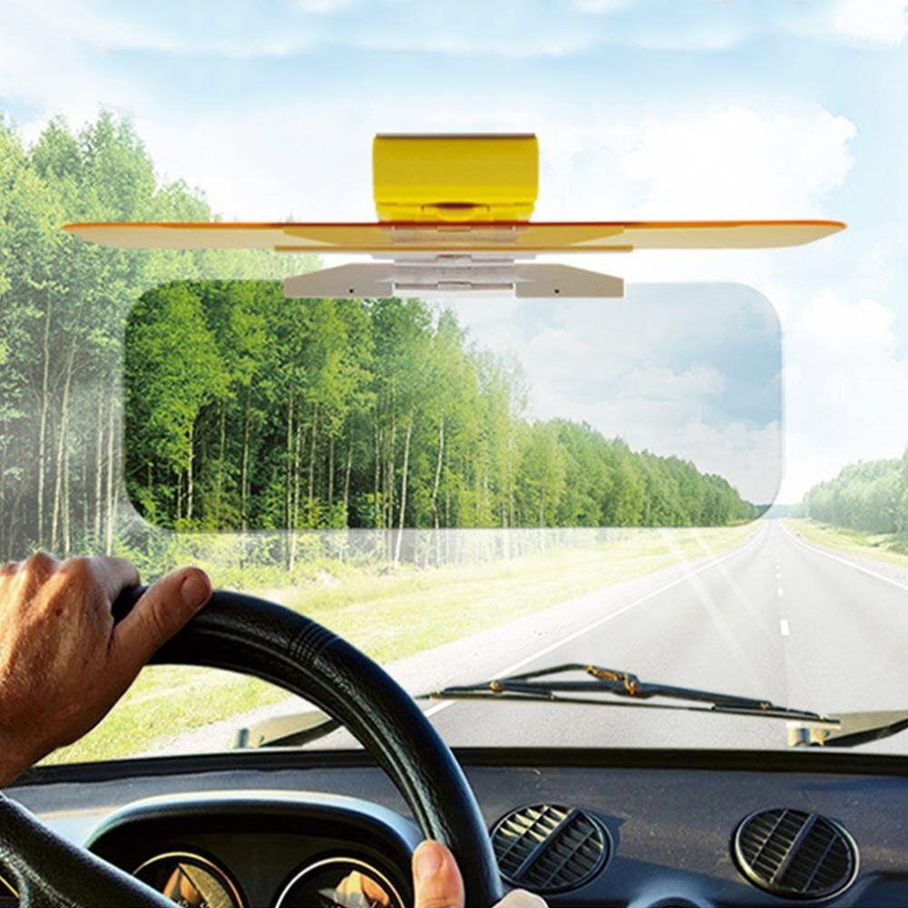 HD Tac Visor Day//Night Anti Glare Visor Clip On Vision Car Vehicle Glass Shade*