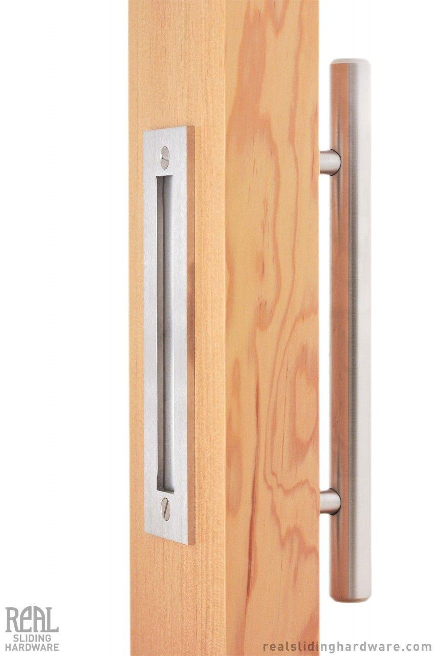 Swiss rod flush pull set hardware bath and doors for Flush door