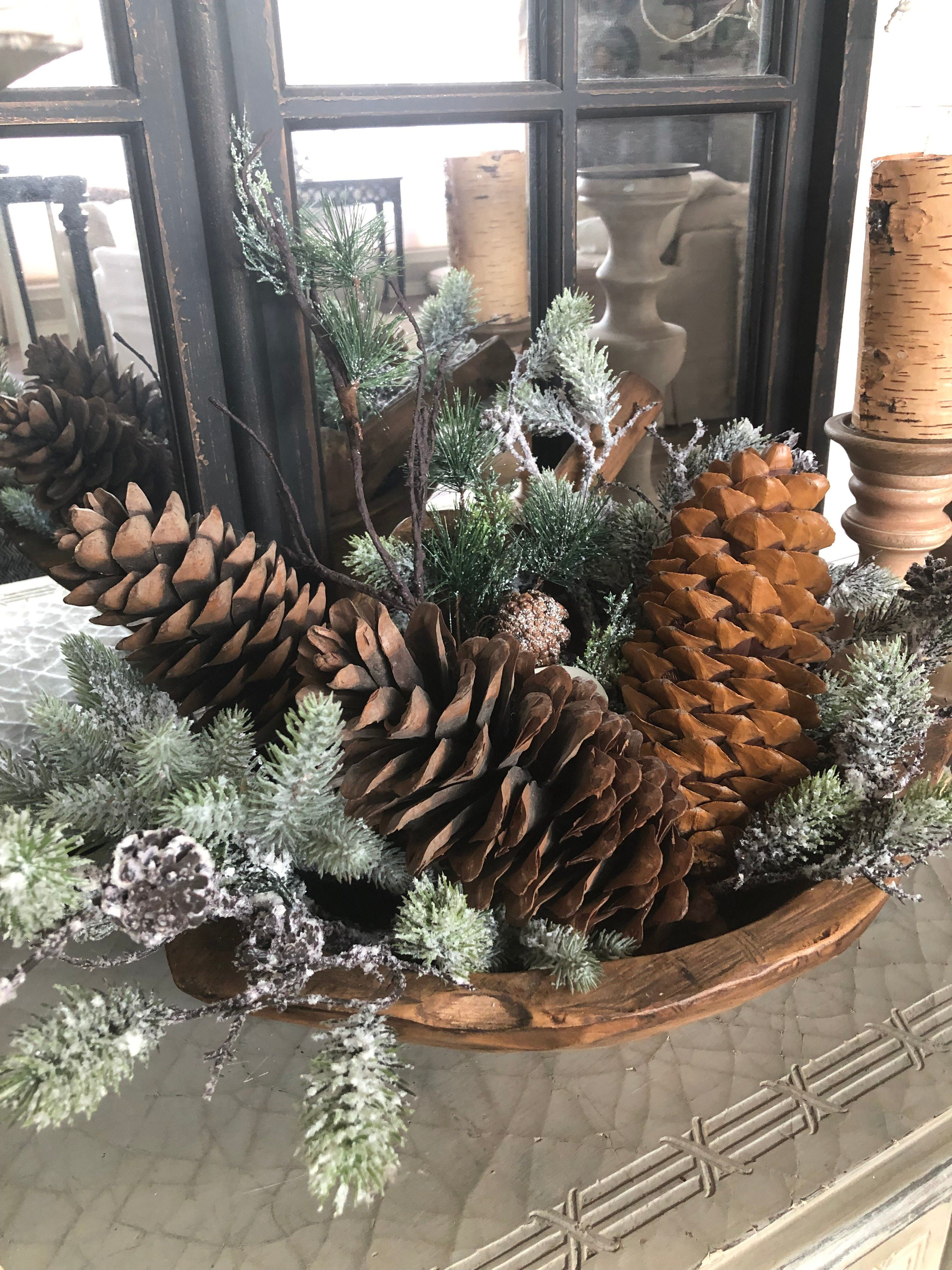 Photo of Sharing a glimpse of my home decor for winter. Simple touches to add a winter vi…