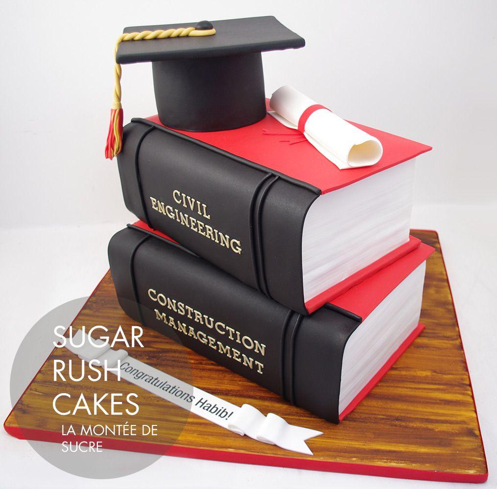 Cake Design For Civil Engineer : Concordia Civil Engineering Graduation cake CAKE DESIGN ...