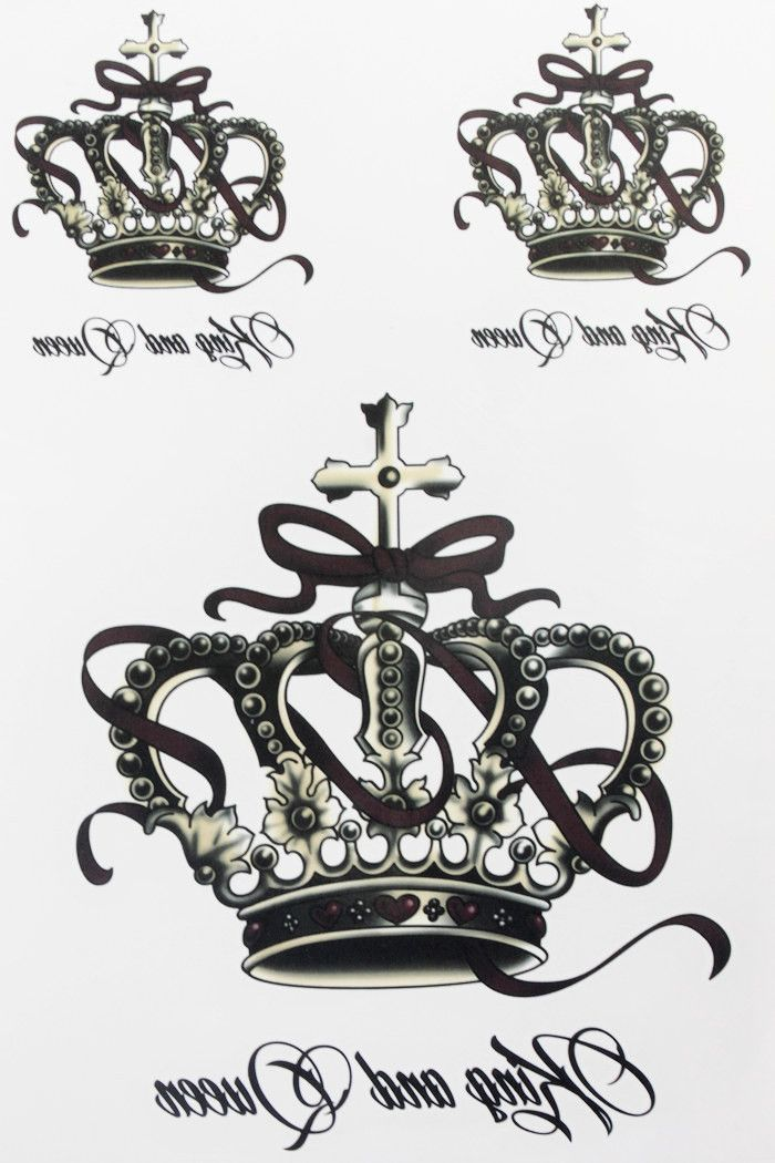 Sexy crown tattoo