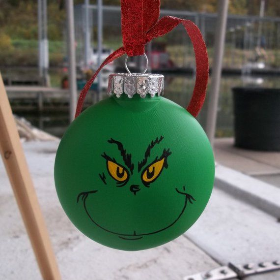 GRINCH Necklace The Grinch WHO STOLE CHRISTMAS NECKLACE Stocking Stuffer