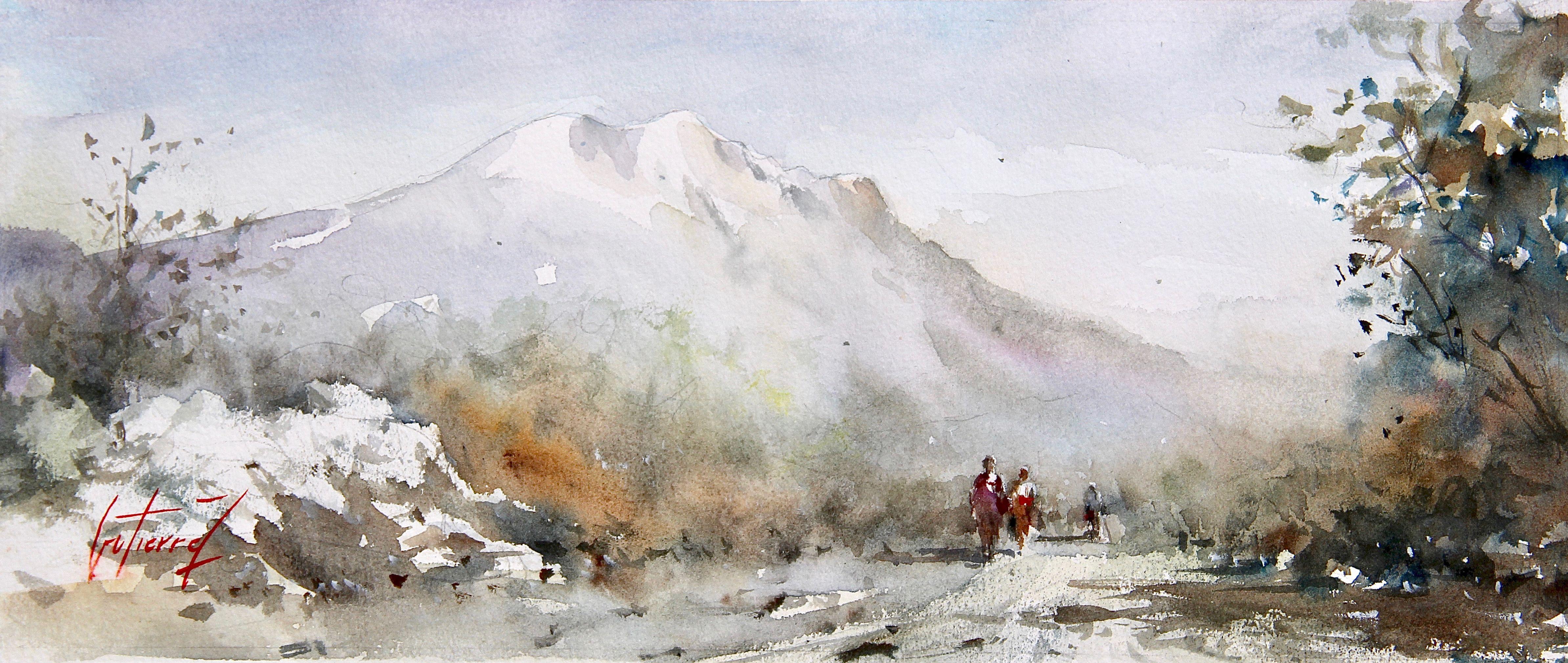 La Montagne Sante Victoire Pierre