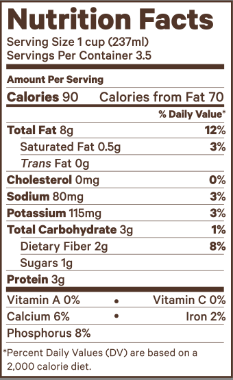 Nb Prodlabel Unsweetened Png 340 555 Pixels Almond Milk Nutrition Facts Blueberries Nutrition Nutrition Facts