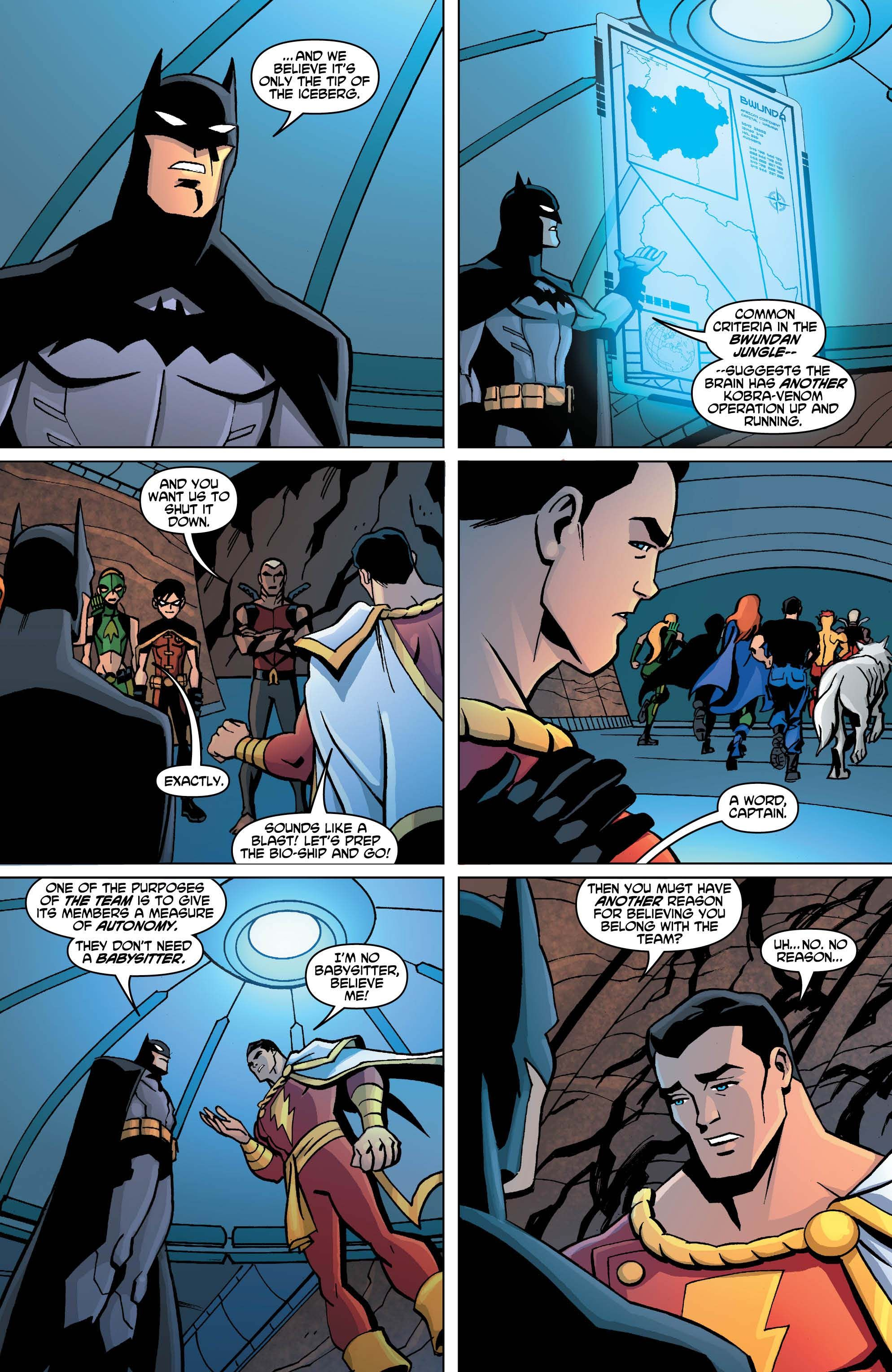 captain marvel young justice fanfiction