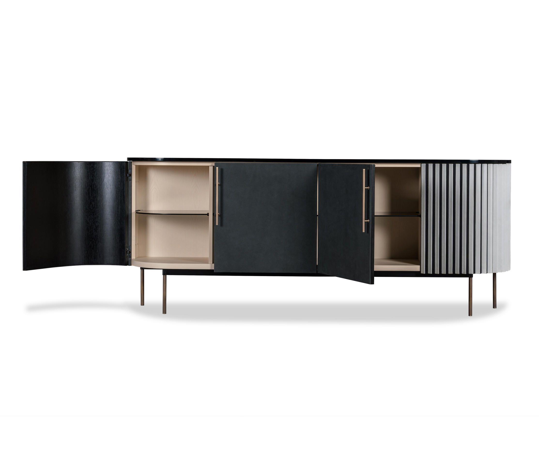 Merveilleux PLISSÉ Low Cabinet By Baxter | Sideboards