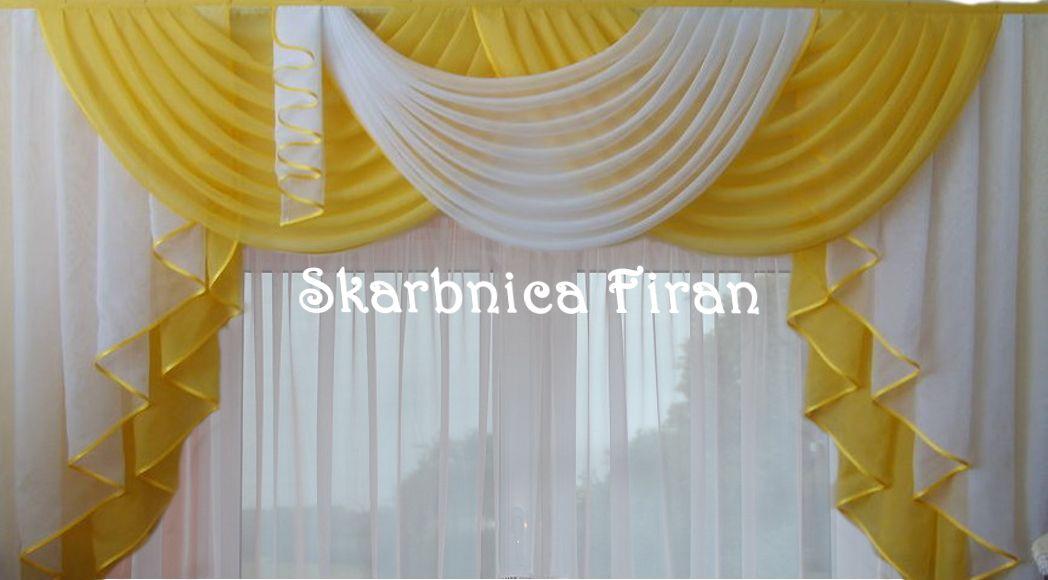 Lambrekin Zaslonka Firanka 40 Kolorow Na Wymiar 5676168966 Oficjalne Archiwum Allegro Home Decor Decor Curtains