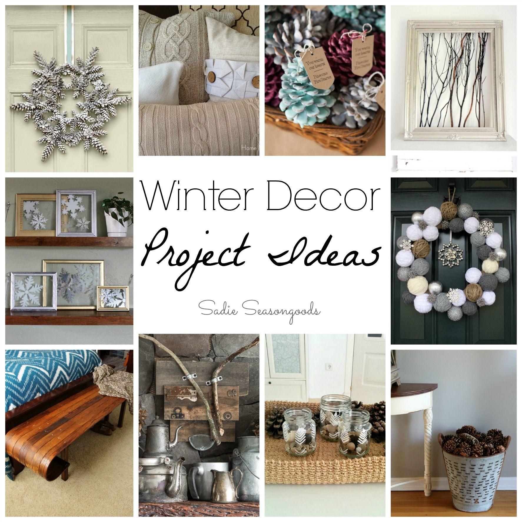 Winter Decor Ideas And Non Christmas Winter Decorations Winter Decor Decor Upcycle Decor