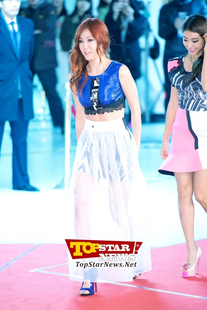 SISTAR's Soyu, 'Healthy beauty that does not lose to the cold'… Red carpet of the 2012 Melon Music Awards [KPOP PHOTO]