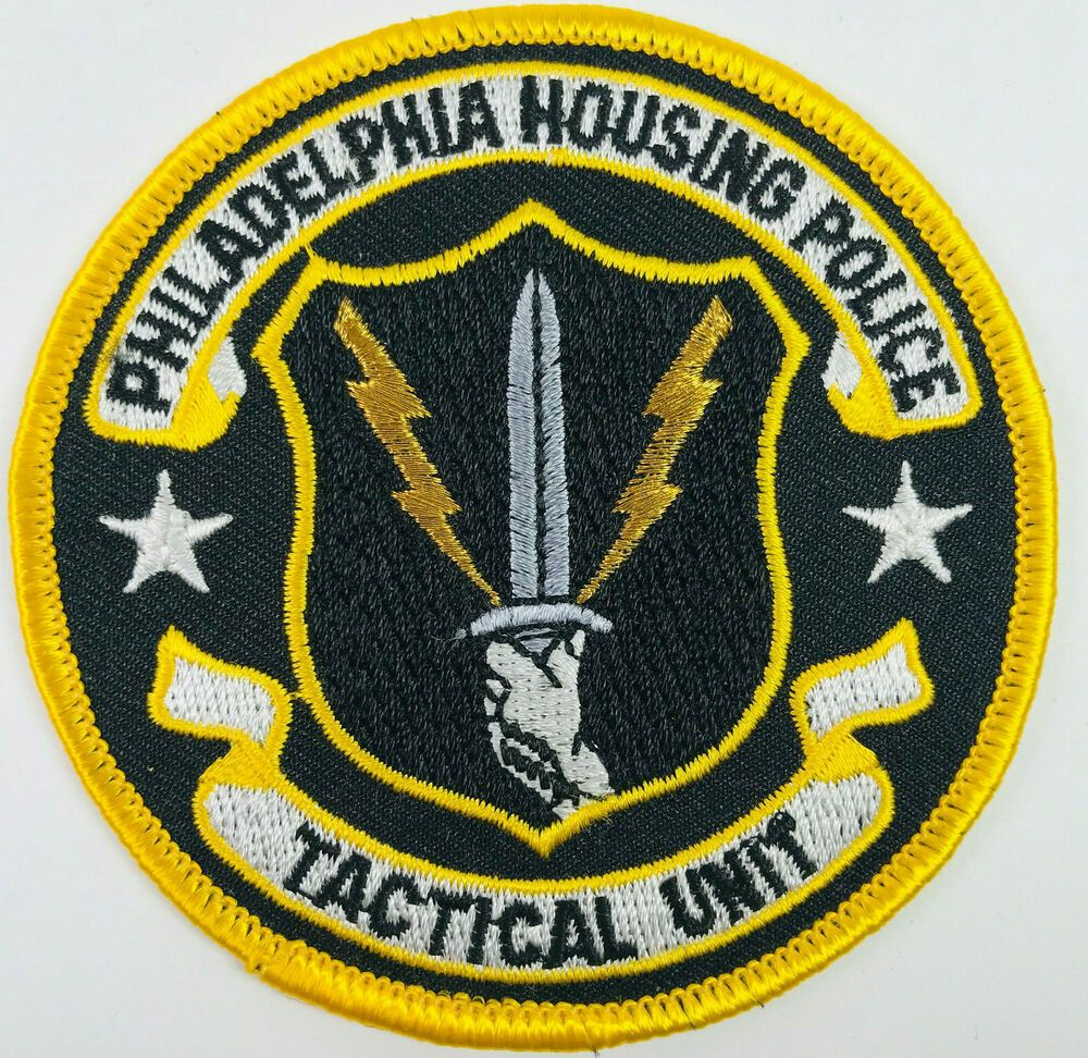 Philadelphia Housing Police Tactical Unit Swat Pennsylvania Patch Police Swat Police Patches