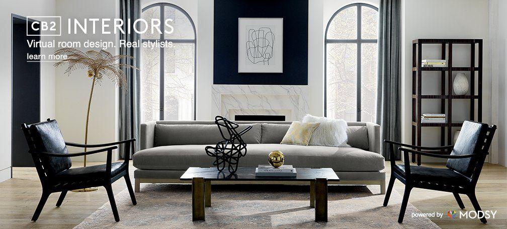 Virtual Room Designer Cb2 Interiors Cb2 Virtual Room Designer Living Room Designs Room Design