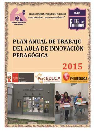 Plan De Trabajo Daip Tgf 2015