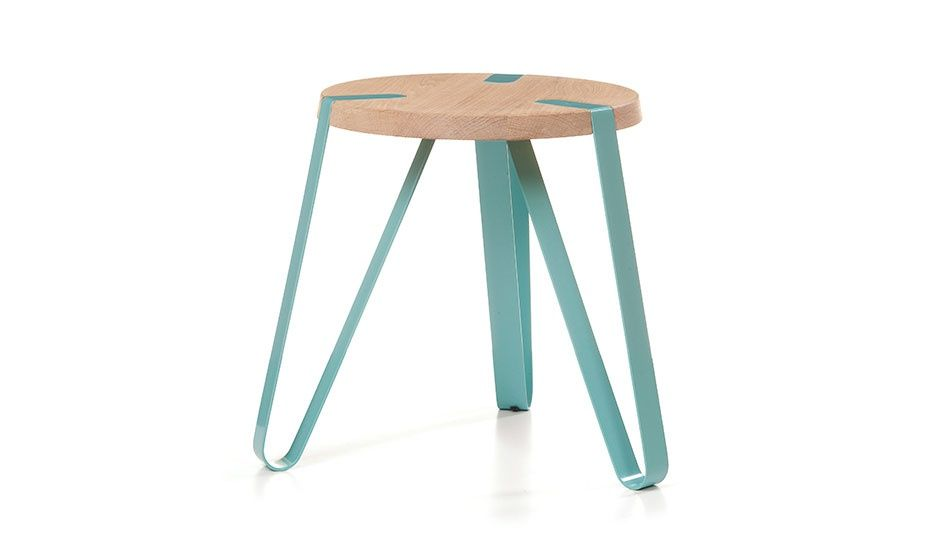 BEAUTY! MONOQI | Ø 40 cm Table - Blue