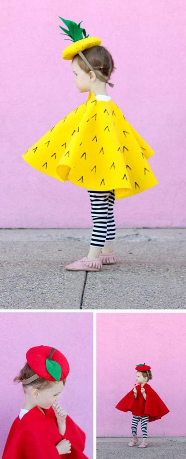 karneval kostüm selber machen früchte | Fasching | Pinterest ...
