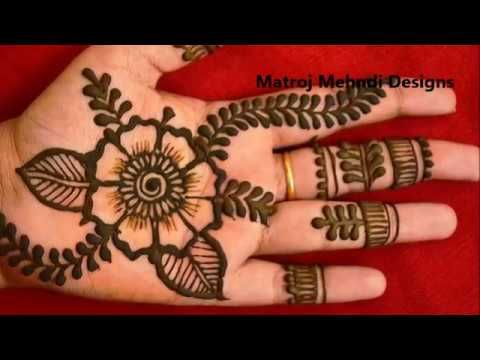 23 Simple Easy Mehndi Designs For Hands Mehndi Designs For Hands