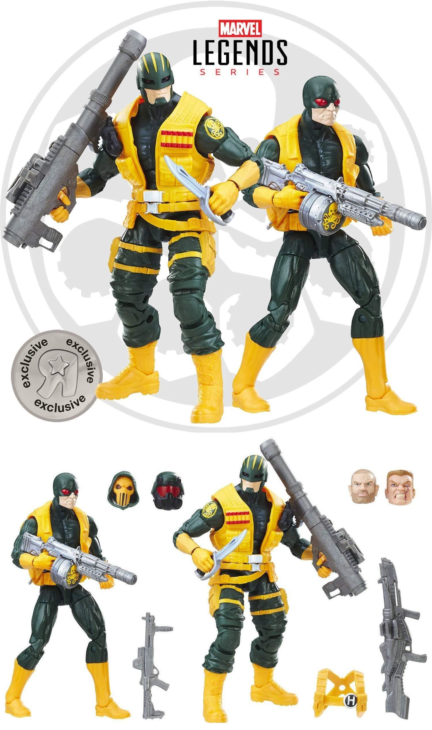 "Marvel Legends Hydra Solider From TRU 2pack Exclusive 6/"" Action Figure Loose"