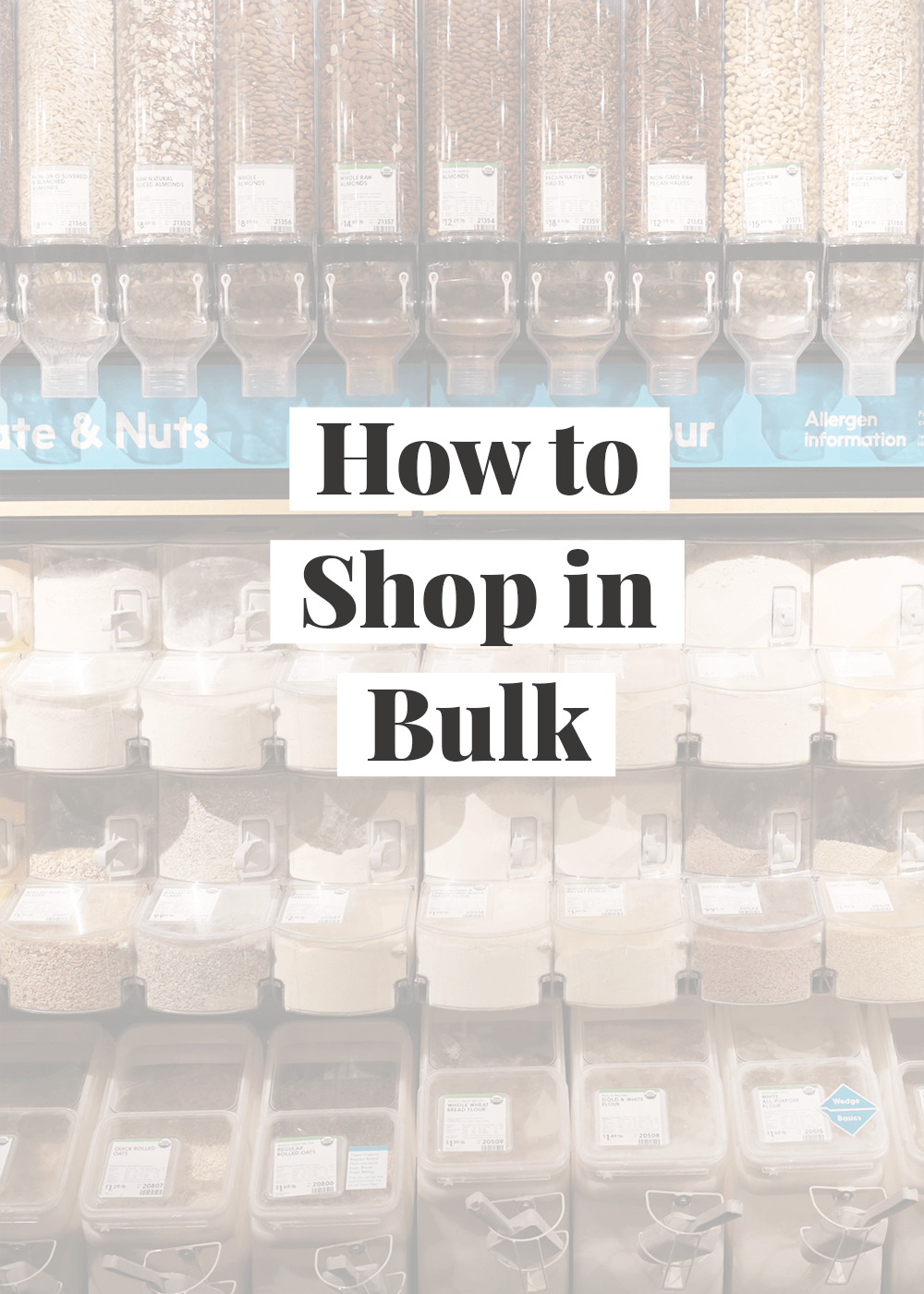 How To Shop In Bulk Save Money On Groceries Budget Meal