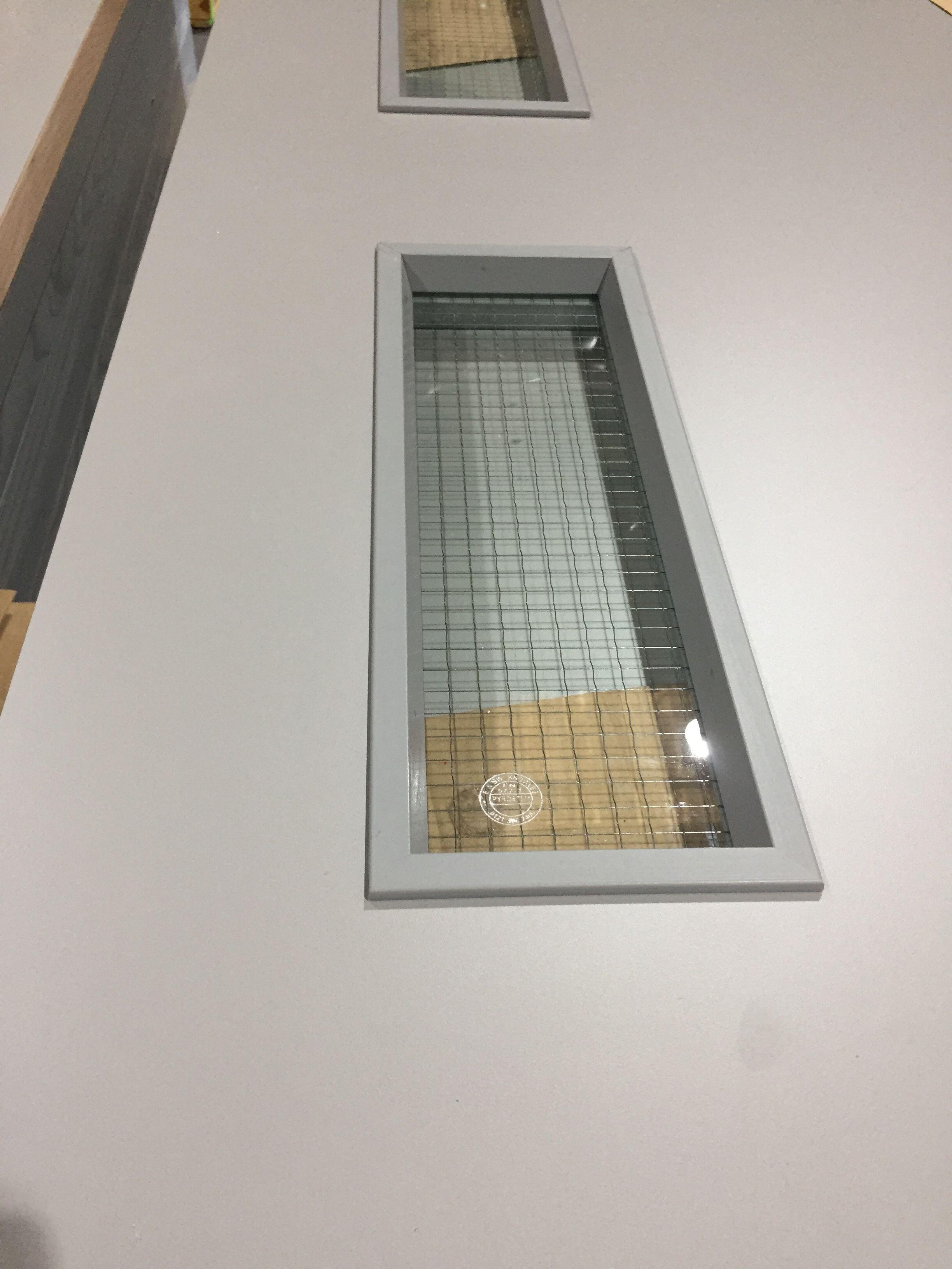 Specialist door - sprayed vision panel beading & Specialist door - sprayed vision panel beading | Interior doors ...