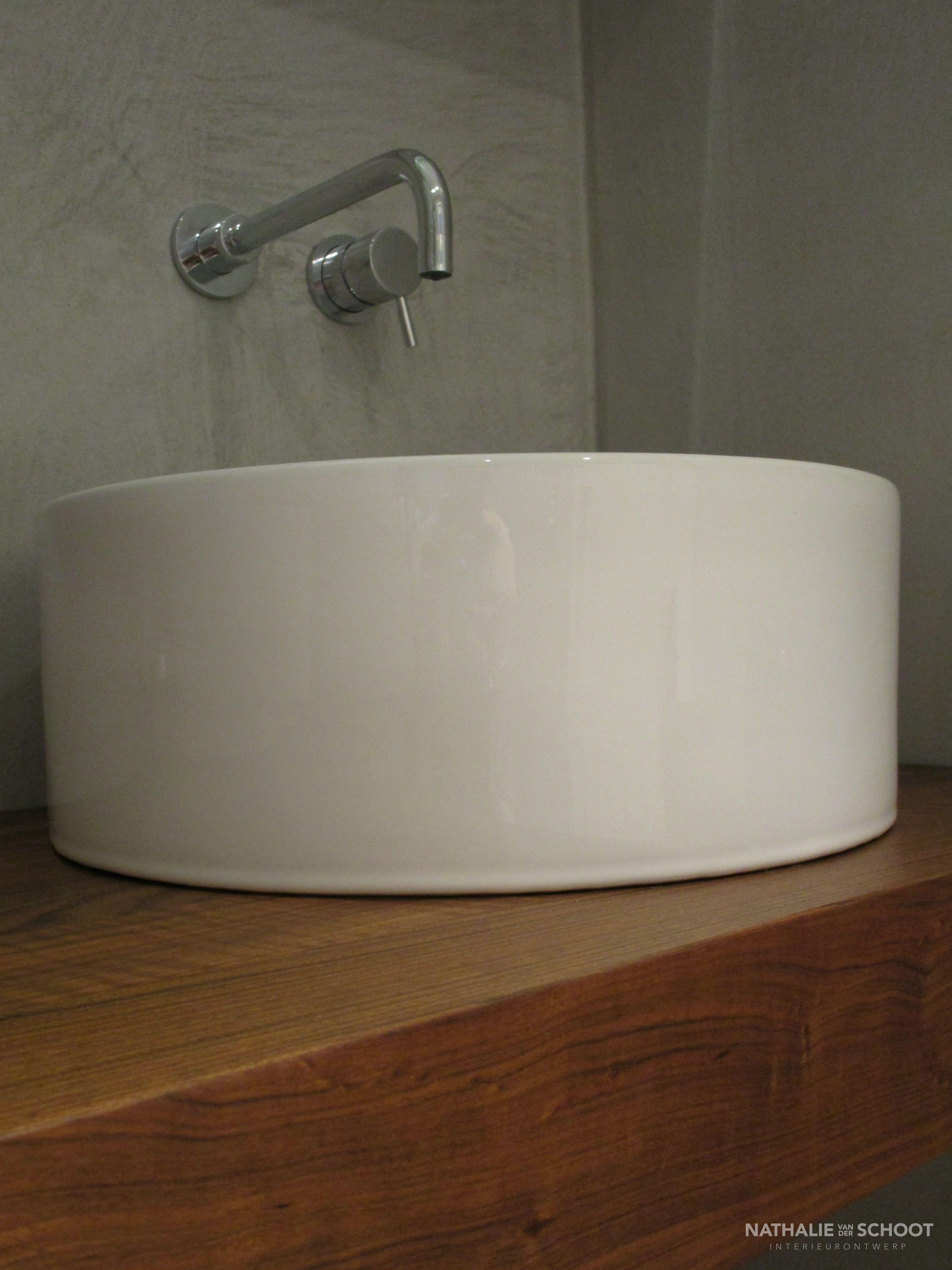badkamer in verbau betonstuc kleur 01 128 betonstuc waterdicht