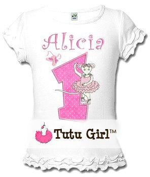 e607982db7f2 Angelina Ballerina Birthday Tee Shirt