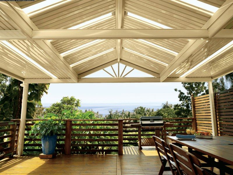 find this pin and more on alfresco pergola design - Patio Roofs Designs