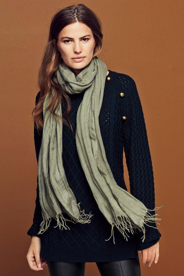#Pullover mit #Zopfmuster und Zierdetails - ab 33,00€