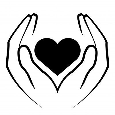 Dear Teacher Heart Hands Drawing Hands Holding Heart Hand Holding Something
