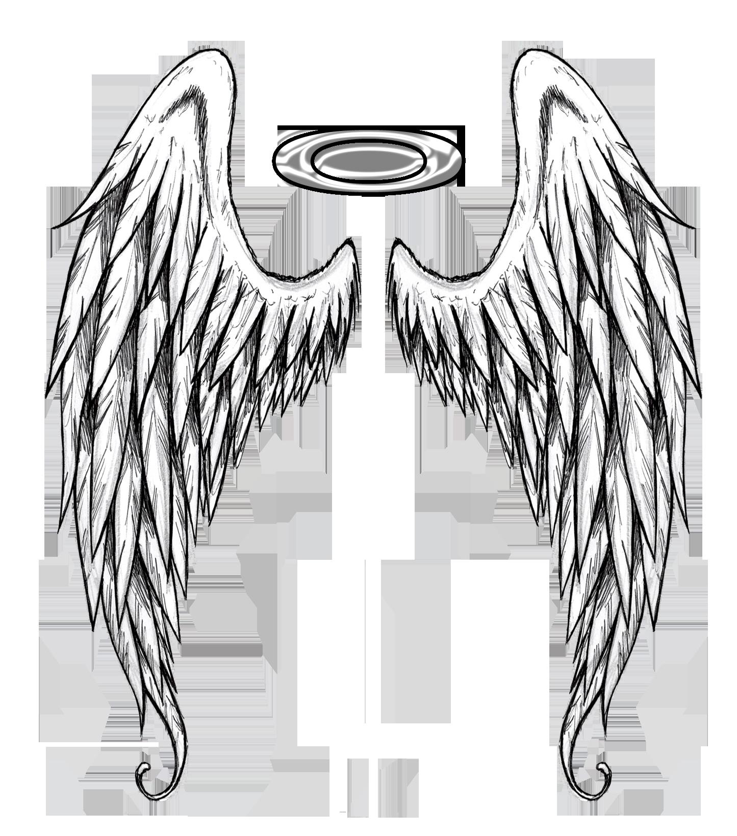 Крылья тату картинка
