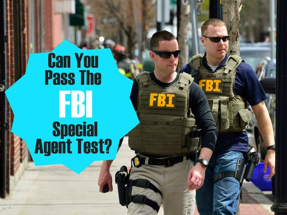 Can You Pass The FBI Special Agent Test? | An, Am and I am