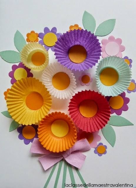 Bouquet Vacation Time Pinterest Cupcake Papers Craft And Spring