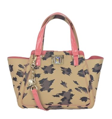 Juicy Couture Wild Thing Leather Small Wing Tote Bag e910cf7f3f3e1