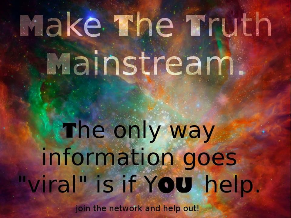 Make the Truth Mainstream | Anonymous ART of Revolution ...