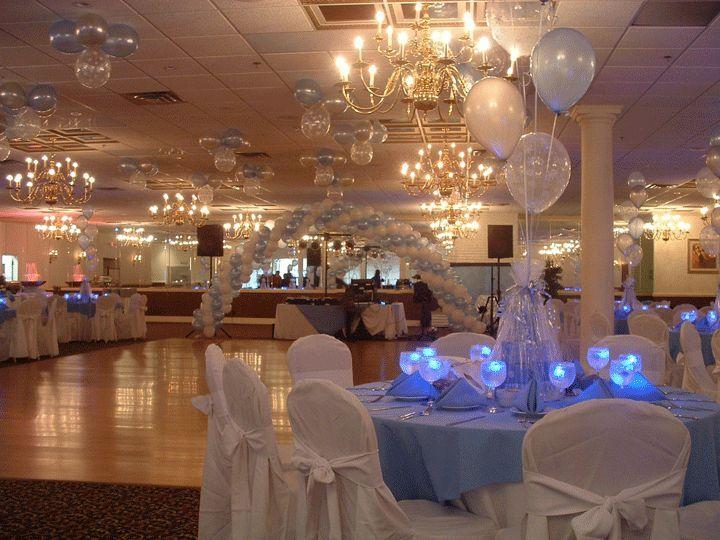 winter party decorations idea winter sweet 16 party decoration