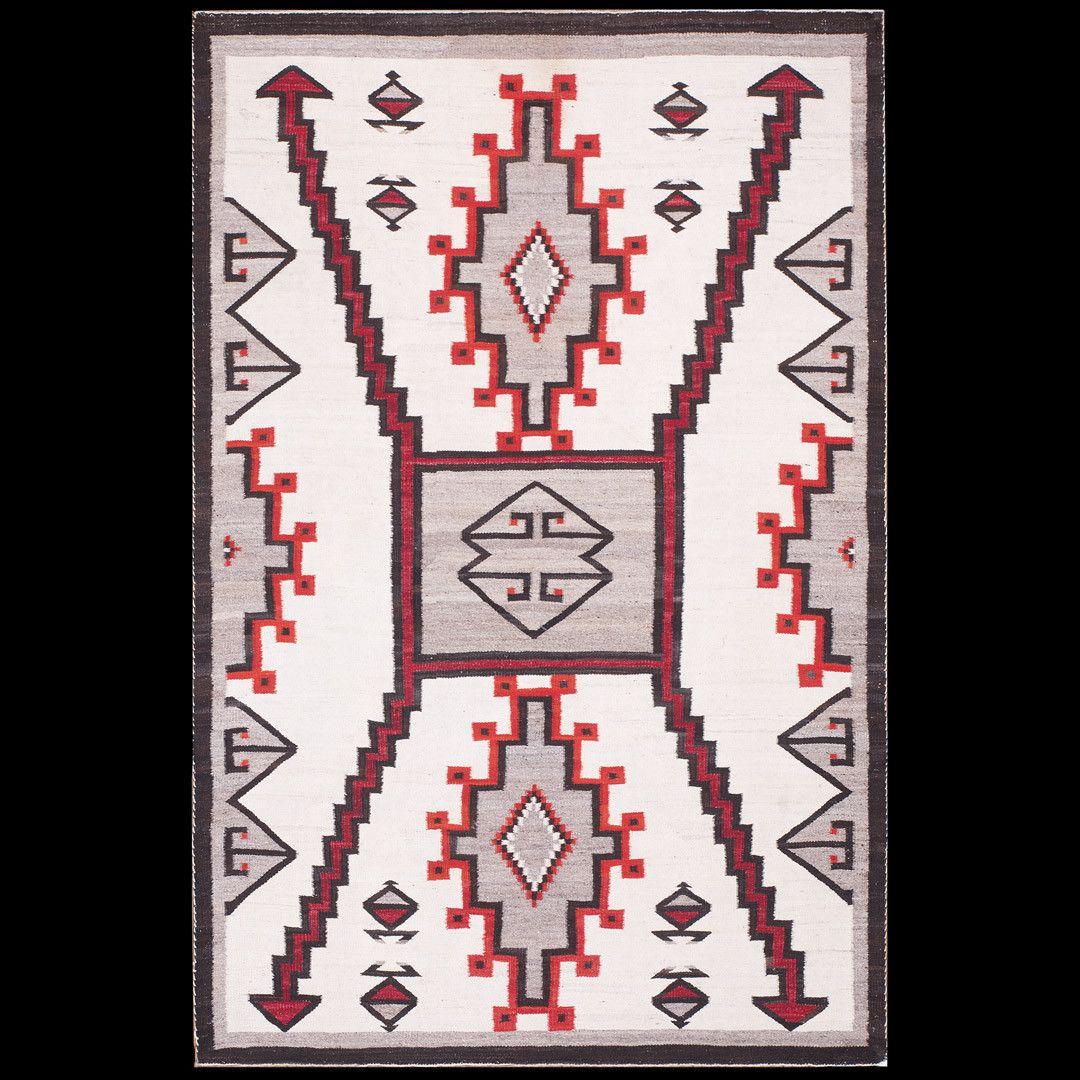 Vintage Navajo Rug Native American Rugs Native American