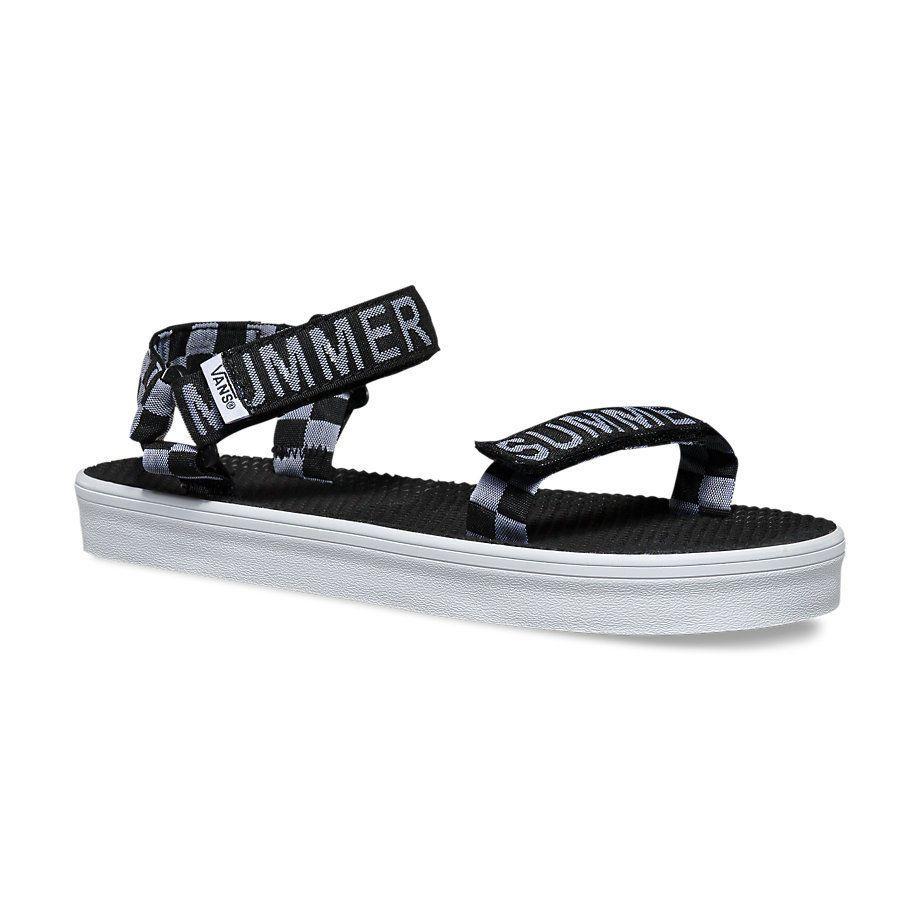 0b5e228bab New Vans Summer Bummer Checkerboard Sandals Size 9  VANS  AnkleStrap