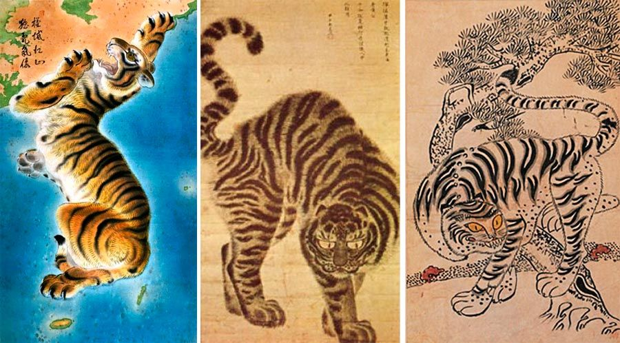 Here's the Korean peninsular depicted as a tiger: Read more at http://www.darkroastedblend.com/2013/01/marvelous-maps-and-curious-cartography.html#LhcHucDz6RJWatik.99  Dark Roasted Blend: Marvelous Maps and Curious Cartography, Part Three