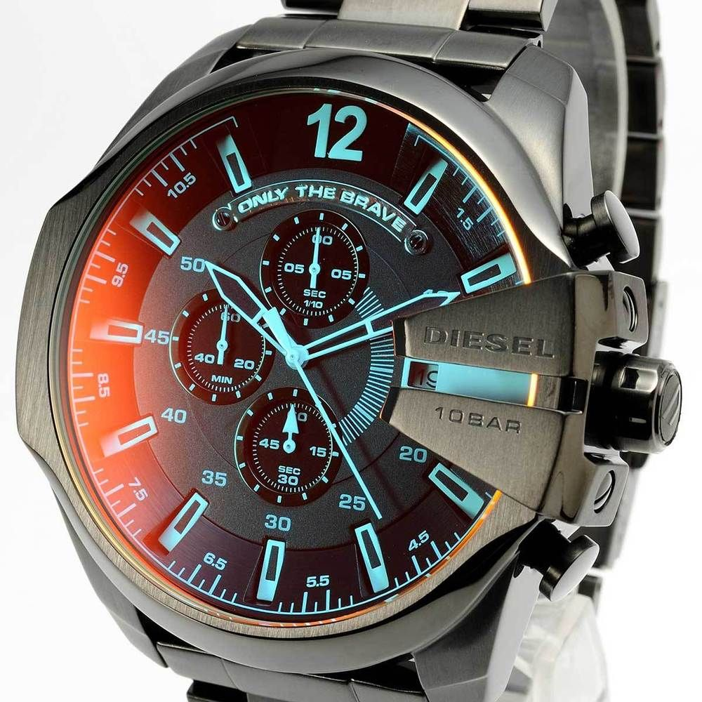 watch com watchshop gents watches mega chief diesel mens chronograph