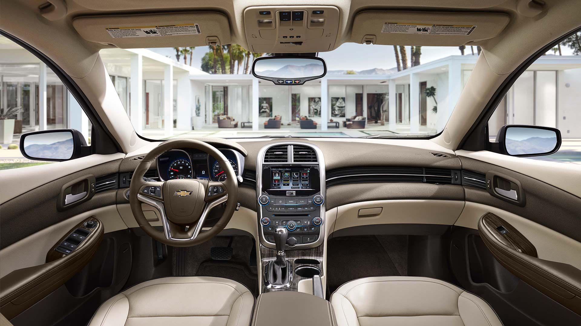Malibu Limited Ltz Interior Photos Touchscreen Chevy Malibu Chevrolet Malibu Malibu