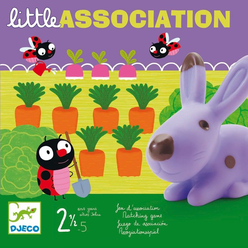 Juego Little Association Tienda Online Abacus Cooperativa Juegos De Mesa Para Niños Juguetes Educativos Para Niños Juegos De Infantes
