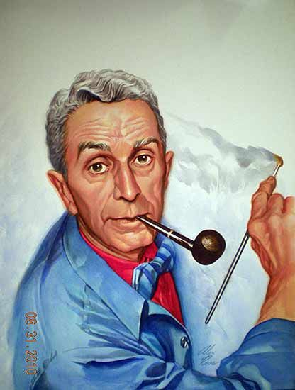 Norman Rockwell Self Portrait Was A 20th Century American Painter And Illustrato Norman Rockwell Self Portrait Norman Rockwell Paintings Norman Rockwell Art